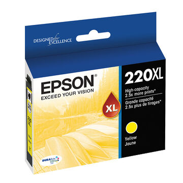 Epson T220XL420 XL Ink Cartridge - Yellow - T220XL420-S