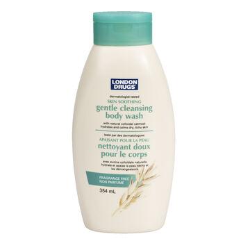 London Drugs Gentle Cleansing Body Wash - Fragrance Free - 354ml