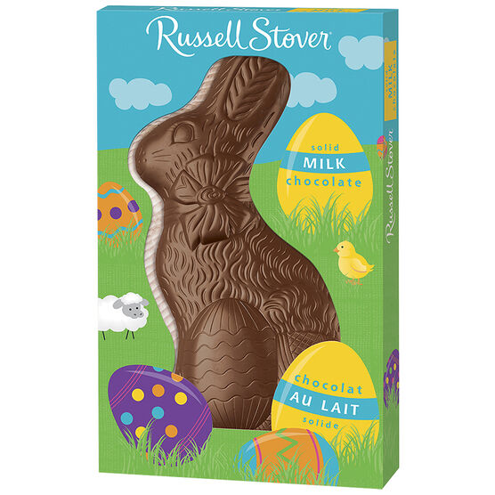 Russell Stover Solid Milk Chocolate Rabbit - 312g