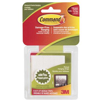 3M Command Medium Hanging Strips - 17204C
