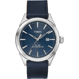 Timex City Collection Watch - Blue/Silver - TW2P77400AW