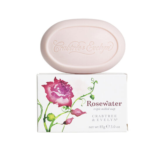 Crabtree & Evelyn Rosewater Triple Milled Soap - 85g