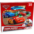 Cars Floor Foam Puzzle Mat - 25 pieces