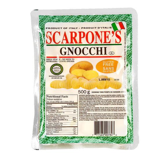 Scarpones Gnocchi - Gluten Free - 500g