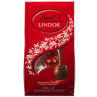 Lindor Milk Chocolate - 150g Bag