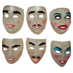 Halloween Transparent Masks - Assorted