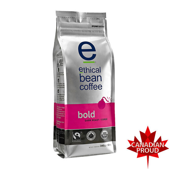 Ethical Bean Coffee - Bold - 340g