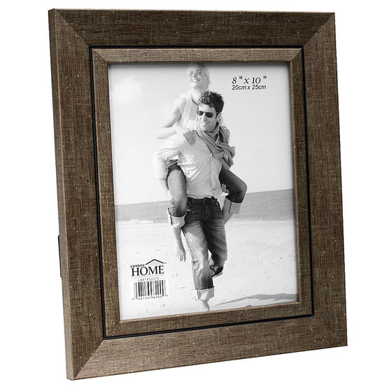 London Home Picture Frame - Olive Texture - 8x10in