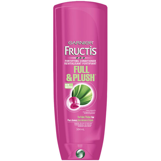Garnier Fructis Full and Plush Fortifying Conditioner - 384ml