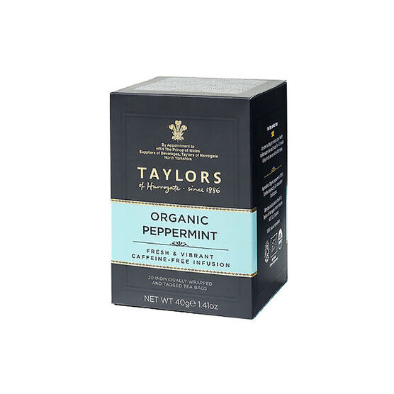 Taylors of Harrogate Tea - Organic Peppermint - 20's