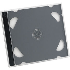 Certified Data CD Jewel Case - 2 pack