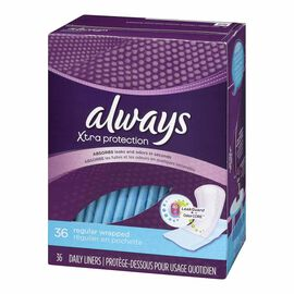 Always Alldays Pantiliners - Wrapped - 36's