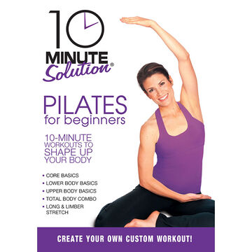 10 Minute Solution: Pilates For Beginners - DVD