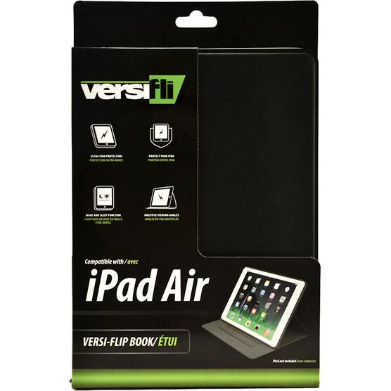 Versifli Versiflip For iPad Air - Black - FLI-5021BL