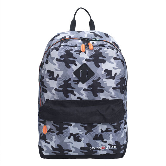 Swissgear Tear Drop Backpack - Grey Camo