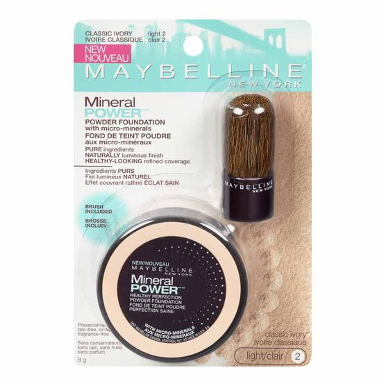 Maybelline Mineral Power Natural Perfecting Powder Foundation - Classic Ivory
