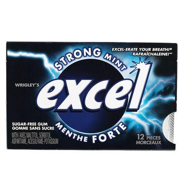 Excel Gum - Strong Mint - 12 pieces