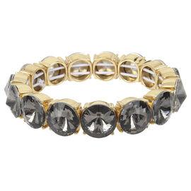 Kenneth Cole Stretch Bracelet - Black Diamond/Gold