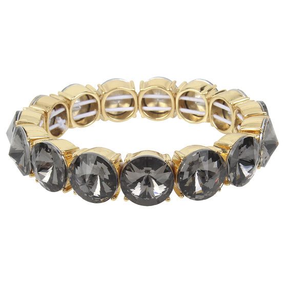 Kenneth Cole Stretch Bracelet - Black Diamond/Gold