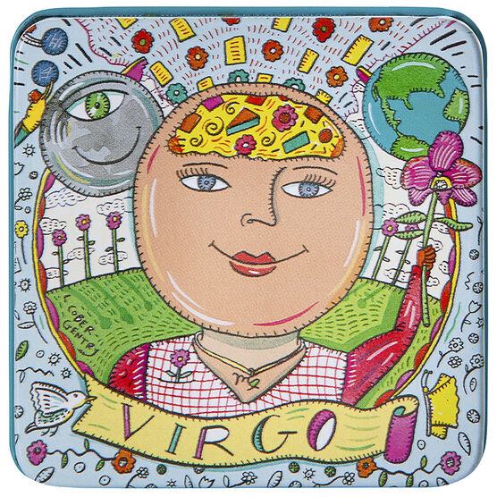 Zodiac Soap in Tin - Virgo - 100g
