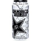 RockStar Pure Zero Energy Drink - Silver Ice - 473ml
