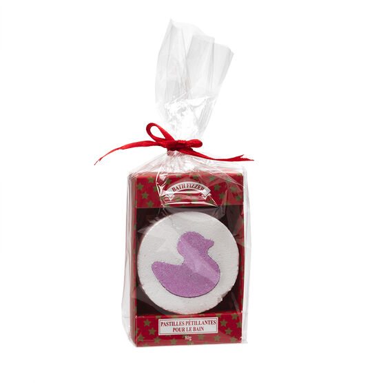 Holiday Treats Bath Fizzer - Cranberry Tart - 80g
