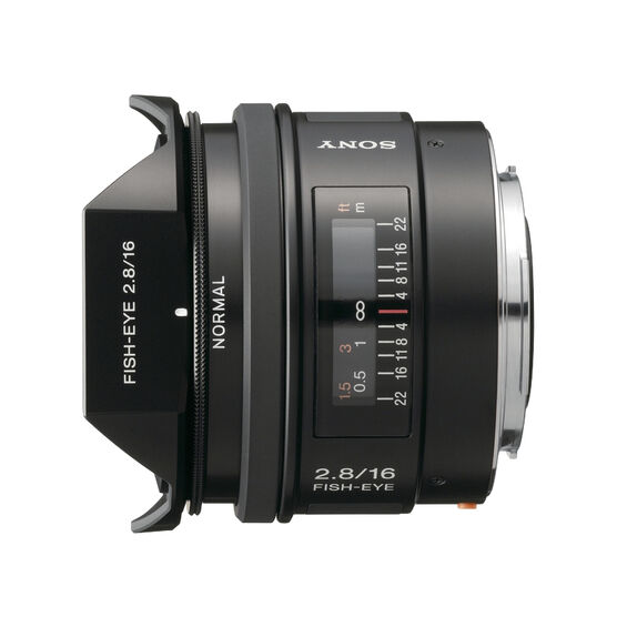 Sony 16mm f/2.8 Fisheye Lens - SAL16F28