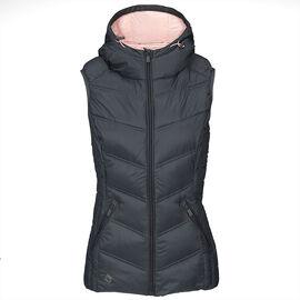 Volcano Bamboo Vest Jacket - Graphite - Assorted