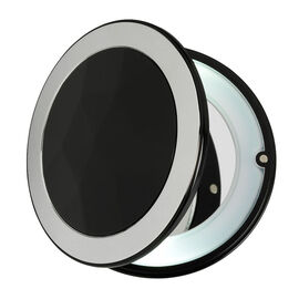 London Premiere Compact with Light - Black