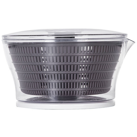 PL8 Salad Spinner - Black/Clear - 4qt