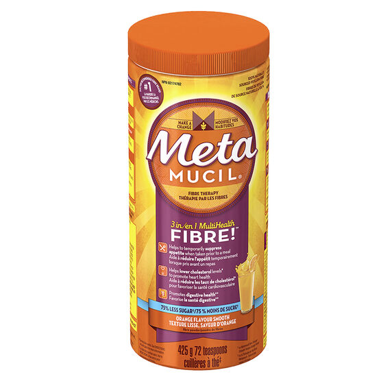 Metamucil 3in1 MultiHealth Fibre Smooth - Orange - 425g