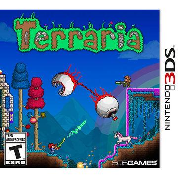 3DS Terraria