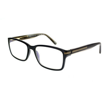 Foster Grant Brockton Reading Glasses - Black/Bronze - 1.50