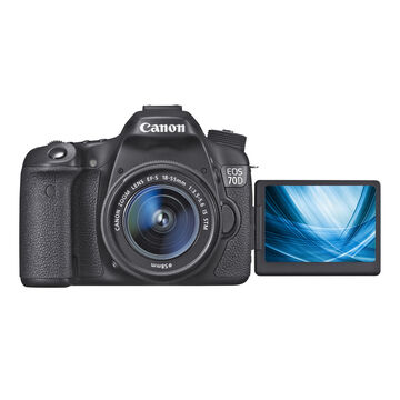 Canon EOS 70D with 18-55mm STM Lens - 8469B010