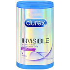 Durex Invisible Extra Thin Condoms - Extra Smooth - 8's