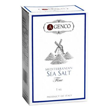A.Genco Coarse Mediterranean Sea Salt - 1kg