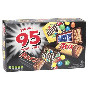Mars, Twix, Snickers & M&M - 95's
