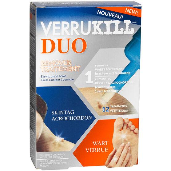 Verrukill Duo Remover Treatment - 12 Treatments