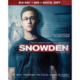 Snowden - Blu-ray