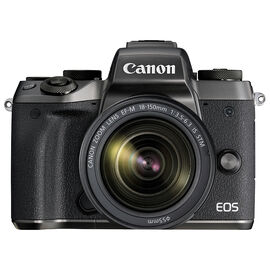PRE-ORDER: Canon EOS M5 Body with 18-150mm f/3.5-6.3 IS STM Lens - Black - 1279C021