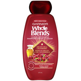 Garnier Whole Blends Colour Care Shampoo - Argan Oil & Cranberry - 370ml