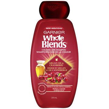 Garnier Whole Blends Colour Care Shampoo - Argan Oil & Cranberry - 370ml