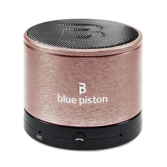 Logiix Blue Piston Wireless Bluetooth Speaker - Rose Gold - LGX12228