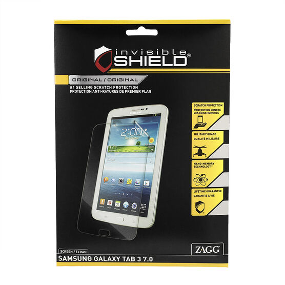 "Invisible Shield Screen Protector - Tab 3 7"" -  IS-FTFSAMGALTAB37S"