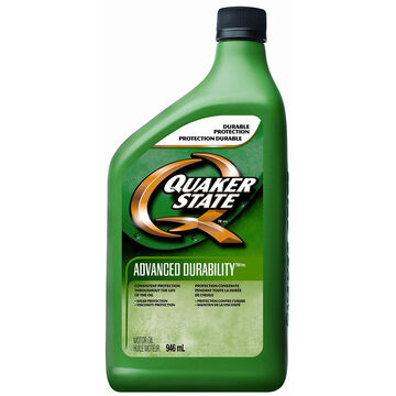 Quaker State 10W-30 Advanced Durability Motor Oil - 946ml