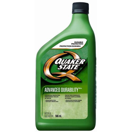 Quaker State 10W-30 Advanced Durability Motor Oil - 946ml