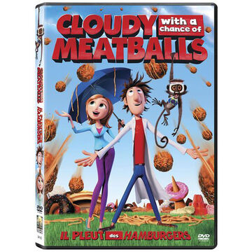 Cloudy With A Chance Of Meatballs - DVD