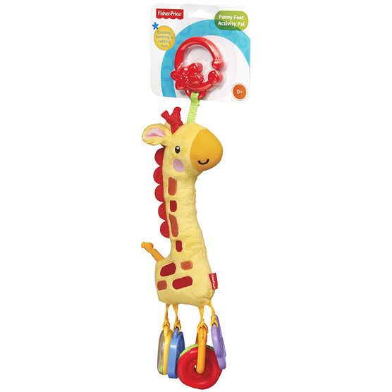 Fisher Price Soft Giraffe Clacker