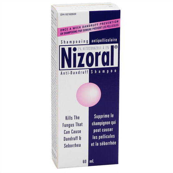 Nizoral* Anti-Dandruff Shampoo Treatment - 60ml