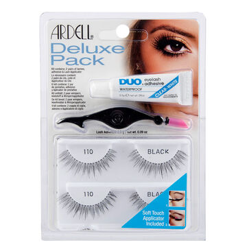 Ardell Lashes Deluxe Pack - Black - 110